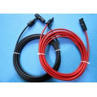 Buy cheap 4mm Solar Panel Extension Extended Cable Wire Cord with MC4 Connector TUV CE from wholesalers