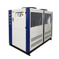 Buy cheap Mgreenbelt Brand 30HP Plant Cooling System Air-cooled Water Glycol Chiller With Low Price product