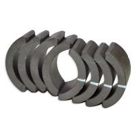 Buy cheap Industrial Sintered Ferrite Arc Magnet , Permanent Rare Earth Ferrite Magnet product