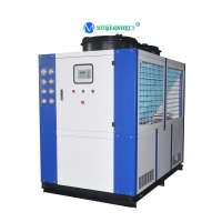 Buy cheap Low Temperature Refrigeration 10HP 15HP 20HP 30HP 40HP Air Cooled Chiller Glycol from wholesalers
