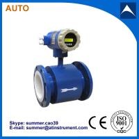 Buy cheap Electromagnetic Flow Meter for Waste Water Plants With Reasonable price product