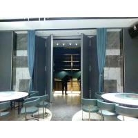 Buy cheap Acoustic Folding Partition Walls With Sliding Hanging System Heat Insulation from wholesalers