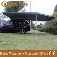 Buy cheap Canvas Tent Trailer Awning Waterproof with Rectangle Triangle product