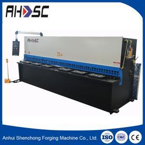 Buy cheap new condition CE QC11Y-12x6000 hydraulic guillotine, cnc hydraulic Sheet metal shearing machine product