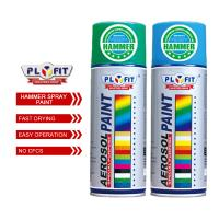 Buy cheap Exterior Hammered Acrylic Spray Paint Vivid Hammer Finish Effect For Wood / Metal product