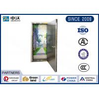 High Protective Stainless Steel Fire Rated Doors With Single Leaf Wear Resistant