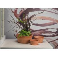 Buy cheap Round Indoor Decorative Planters Cartons Packing With Recycled Plastic Material product