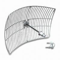 Buy cheap 5.1 to 5.6GHz Wireless Grid Antenna with 30dB Gain for N Jack product