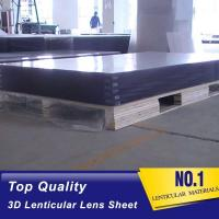 Buy cheap OK3D wholesale High Quality White PP material Plastic Lenticular Sheet high transparency lenticular sheet  25lpi lens product