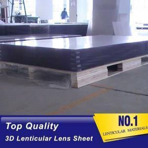 Buy cheap Rigid 120x240cm 20 LPI 3mm  lenticular lens sheet 3d lenticular plastic for Flip Lenticular printing by injekt printer product