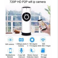 Quality EC2 Mini 180° Panorama Camera Wireless WIFI P2P IP Night Vision Home Security for sale