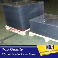 Buy cheap 16lpi -161lpi lenticular sheet for 3d and flip lenticular effect printed by UV offset print by injekt print product