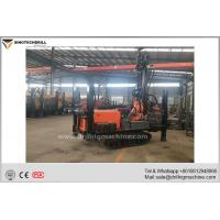 Buy cheap Professional Crawler Chassis Water Well Drilling Rig 5000 - 6500N.M Rotation Torque product