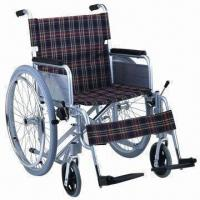 Buy cheap Wheelchair with Aluminum Frame, Fixed Armrest product