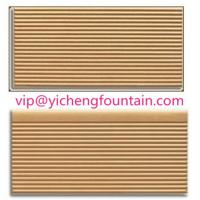 Buy cheap Durable Porcelain Swimming Pool Deck Tiles Eco - Friendly FINA Standard Ivory Color product
