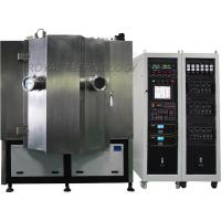 Buy cheap Black Color PVD Metalization Machine , Graphite DC Sputtering Coating machine, MF Chrome carbon Vacuum Coating product