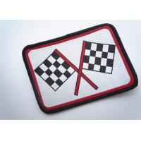 Buy cheap Decorative Embroidered Number Patches Polyester For Apparel Dress product