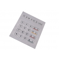 Buy cheap Outdoor 4 X 5 Numeric Key Pad By Industrial Metal With TTL Cable product