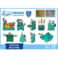 Buy cheap Hwashi 1 year warranty High Effiencicy Home Fan Guard Production Line Making Machines Automatic Spot Welding Machine product