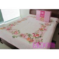Buy cheap Pure Silk Blanket For Home And Hotel , 100% Cotton Raschel Blanket product