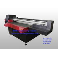 Buy cheap Digital Uv Flatbed Printing Machine , Wide Format Flatbed Printer High Speed product