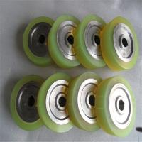 Buy cheap Non Marking PU Coated Rollers For Industry Caster High Load Bearing Capacity from wholesalers