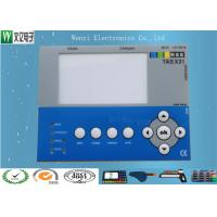 Buy cheap Polydome Embossing Membrane Switch Overlay Hi Glossy Clear Transparent LED Window product