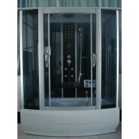 Buy cheap 85 X 170 X 220 / cm Complete Shower Enclosures with tray fiberglass reinforced Matt chrome Color product