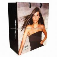 Buy cheap Paper Gift Bag, Made of Art Paper, with Full Color Printing product