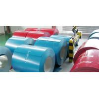 Buy cheap Corrosion Proof Painted Steel Coil For Corrugated Sheet , Color Coated Steel Coil product