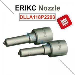 Buy cheap ERIKC DLLA118P2203 bosch fuel injector nozzle 0 433 172 203 Komatsu Cummins injector nozzle DLLA 118 P 2203 product