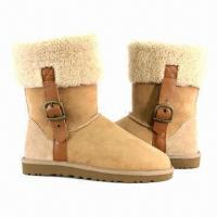 Buy cheap Nice Women's Casual Boots/Fashion Riding Boots/Cozy Winter Boots, Customized Colors are Accepted product
