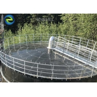 Buy cheap Expanded Glass Lined Steel CSTR Wastewater Treatment Reactors , Wastewater Storage Tanks product