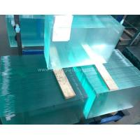 Quality Curve  10MM  Durable Csi Custom Tempered Safety Glass Low Visible Distortion for sale