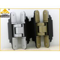 Buy cheap Middle Duty Zamak Invisible Door Hinges 180 Degrees Of Security Door product