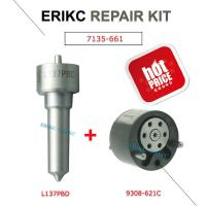 Buy cheap ERIKC L137PBD diesel injector 33801-4X810 repair kit 9308-621C control valve 2823929 28440421 nozzle DSLA 158 fl 137 product