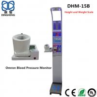 Buy cheap Digital Bmi Height Weight Machine , Blood Pressure Calculator Machine Coin Operated Weighing Scale product