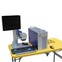 Buy cheap ISO Metal Marking Machine , Number On Steel Scanlab Fiber Laser Marking Systems product