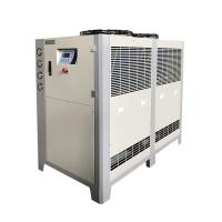 Buy cheap Beer Brewing Glycol Chilling System Air Cooled Glycol Chiller 5HP 8HP 10HP With PHE For Fermentation Tank product