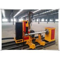 Buy cheap 25kw Cnc Pipe Flame Cutting Machine 3 Axis Two Linkage Axises Intersection Cutter product