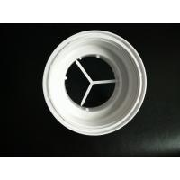 Buy cheap White Color Plastic Connector Plastic Injection Moulded Components High Precision product