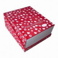 Buy cheap Romantic Design Bakery Cardboard Gift Packaging Box, Moving with Strong Bearing product