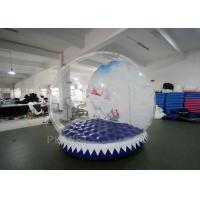 Buy cheap Shopping Mall Life Size Snow Globe 0.8mm Clear PVC Material For Live Show product