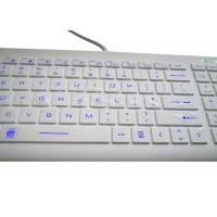 Buy cheap Magnetic Antibacterial Medical Hospital Keyboard With Backlit Against COVID-19 from wholesalers