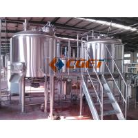 Buy cheap 380V Three  Phase Large Scale Brewing Equipment Brewery Fermentation Tanks product