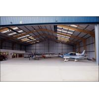 Quality Easy Expansion Aircraft Hangar Buildings With Minimal Material Loss for sale