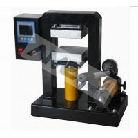 Buy cheap Calender / Glovebox Compatible 5T Hydraulic Lamination Hot Press (12×12 cm area) with Temp. Controller product