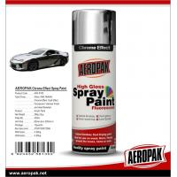 Buy cheap Aeropak fast dry high glossy Chrome Effect Spray Paint, bright chrome color, vivid in gloss, long lasting product
