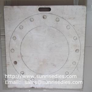 Buy cheap Large board silicon gasket steel cutting dies, rubber gasket steel die cutters wholesale product