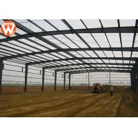 Buy cheap High Strength Prefabricated Steel Structure Warehouse Waterproof And Fireproof product